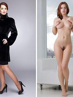 Nudes russian Russian woman